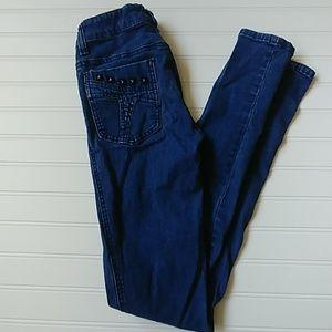 Tripp studded skinny jeans